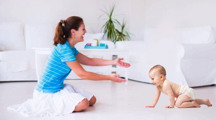 All About Baby Crawling : Get, Set and Crawl