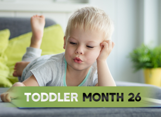 month Old toddler