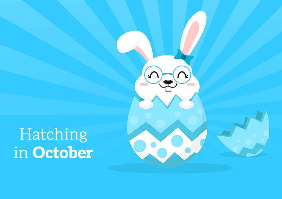 Hatching in October