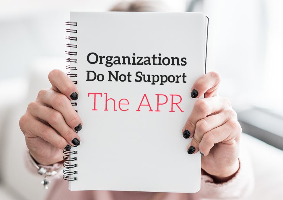 Organizations_Do_Not_Support_The_APR