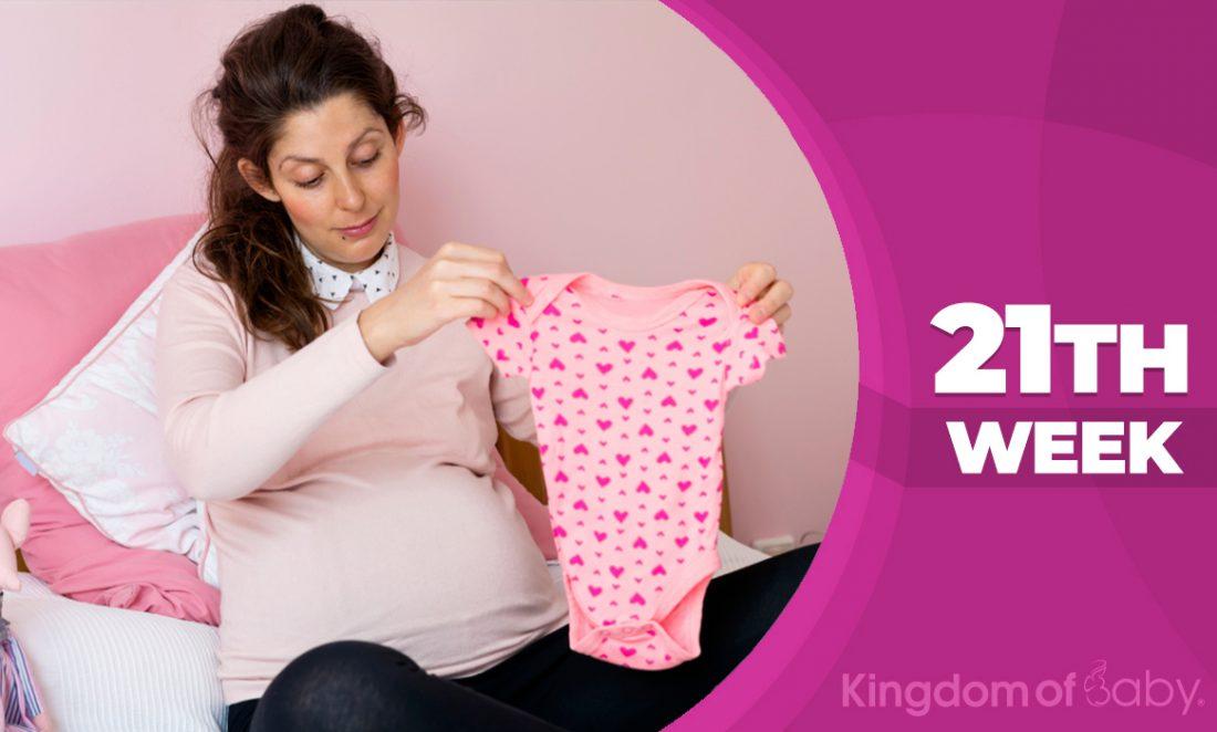 Pregnancy weeks 21