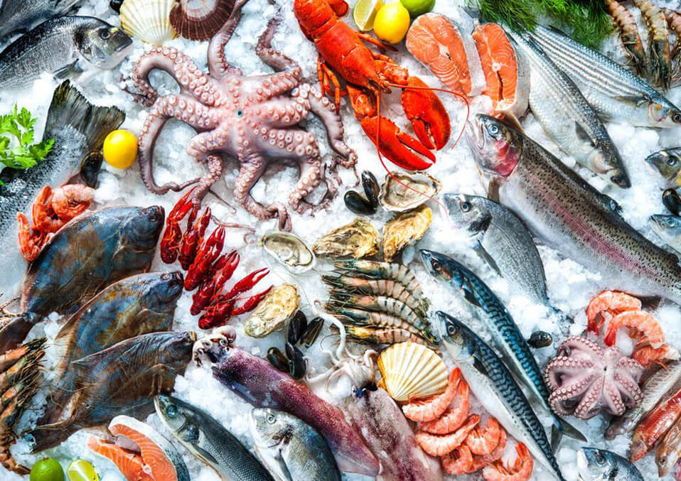Can a pregnant woman eat seafood?