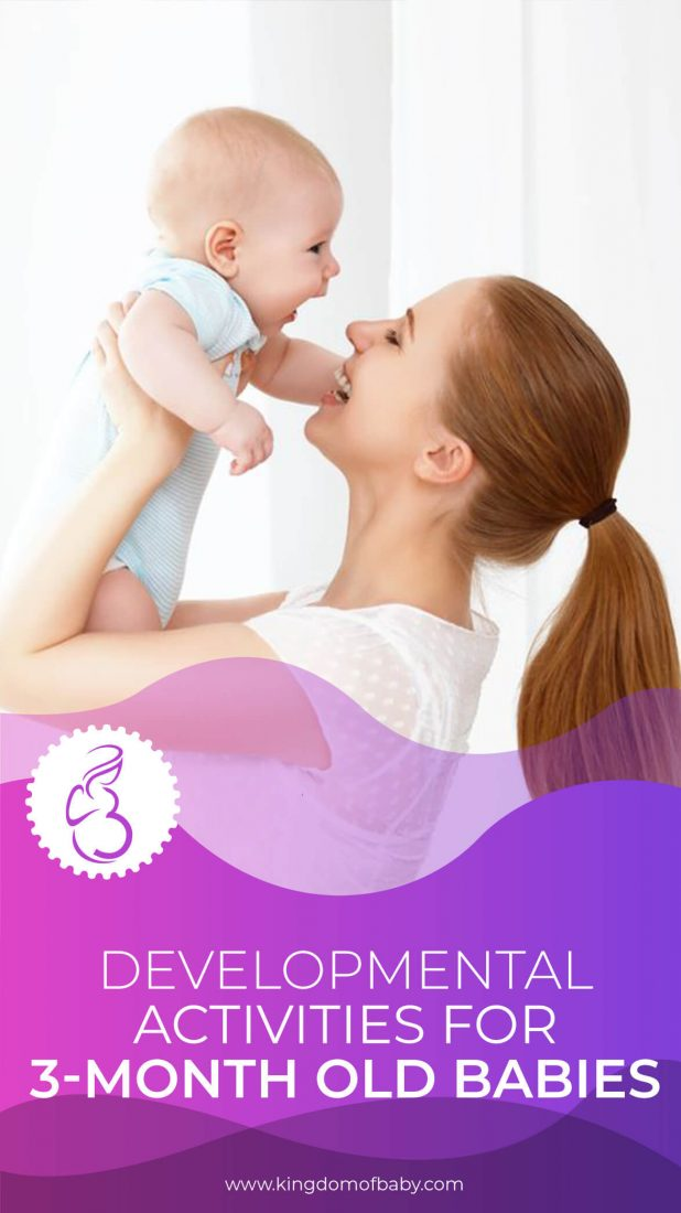 Developmental Activities for 3-Month Old Babies