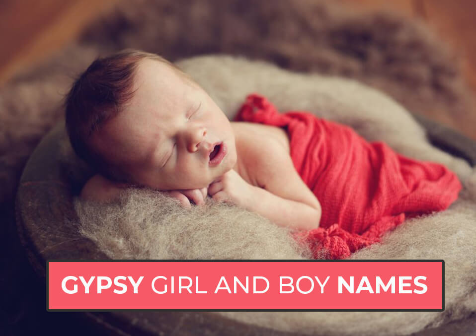 Gypsy Girl  And  Boy  Names