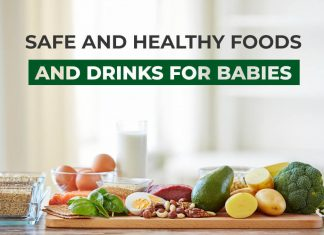 Safe and Healthy Foods and Drinks for Babies