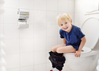 Toddler won't poop on the potty