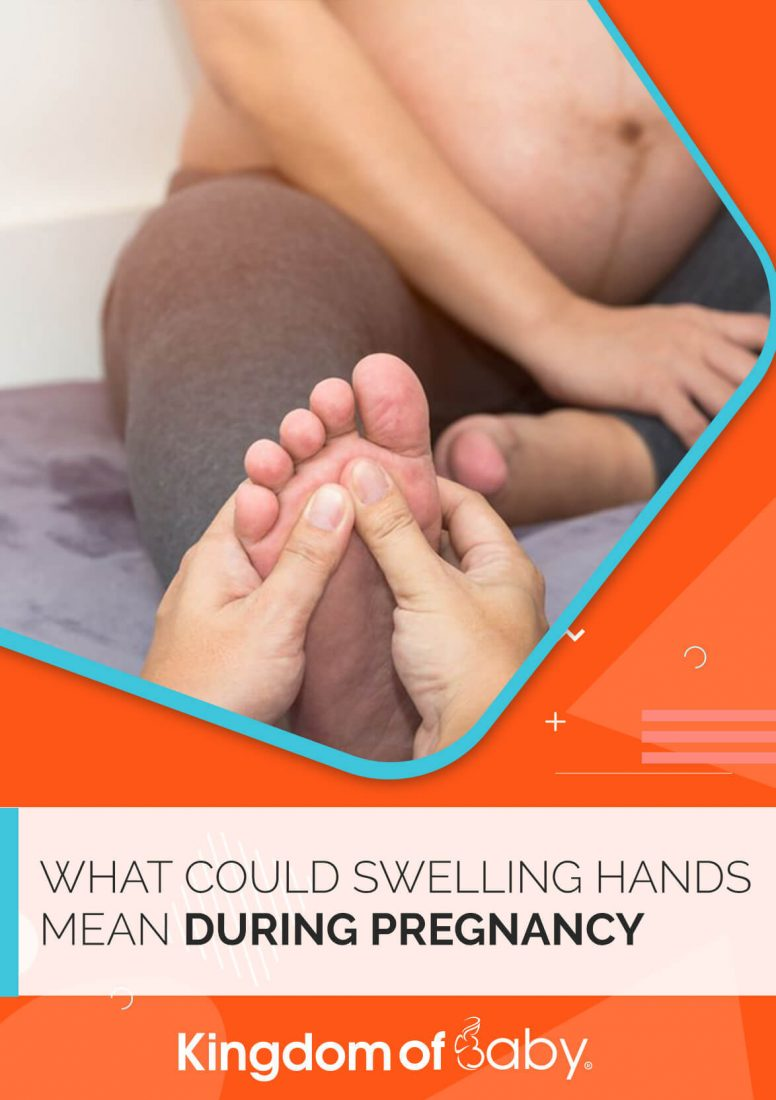 What Could Swelling Hands Mean During Pregnancy?