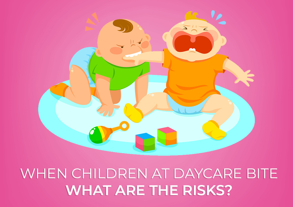 When Children At Daycare Bite: What Are The Risks?