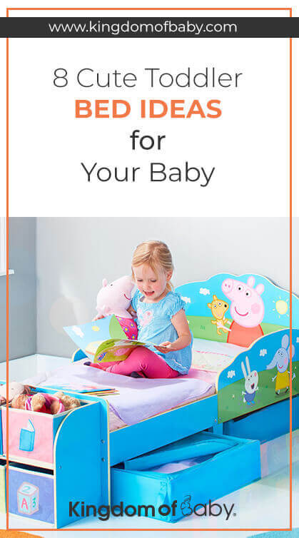 8 Cute Toddler Bed Ideas For Your Baby