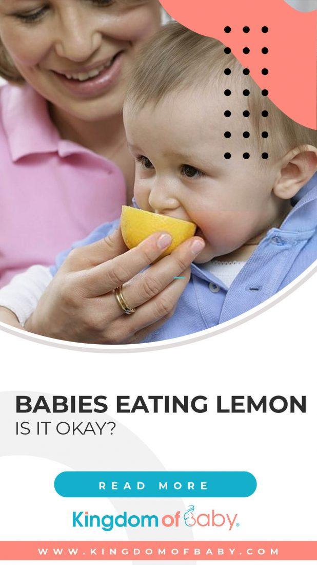 Babies Eating Lemon: is it Okay?