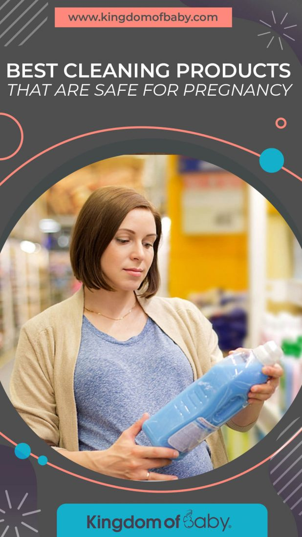 Best Cleaning Products That are Safe for Pregnancy
