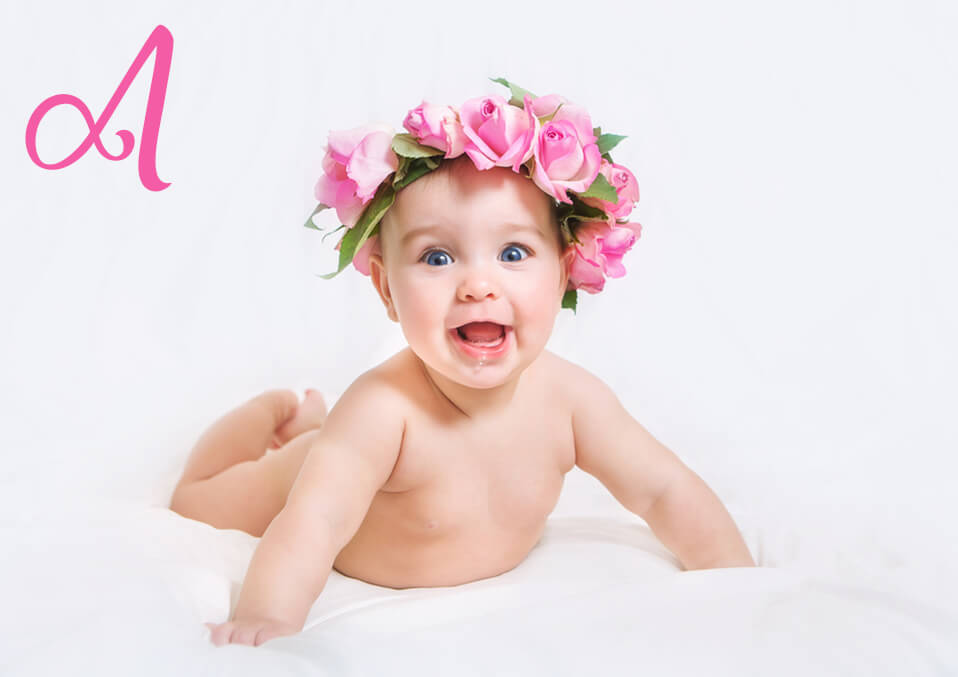Charming Names Ending in Letter a For Baby Girls