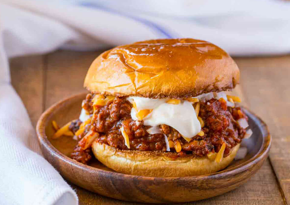 Classic and saucy sloppy joe's