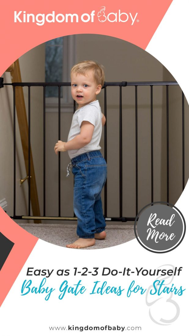 Easy as 1-2-3 Do-It-Yourself: Baby Gate Ideas for Stairs