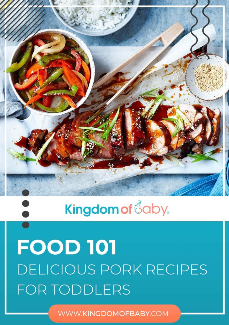 Food 101: Delicious Pork Recipes for Toddlers