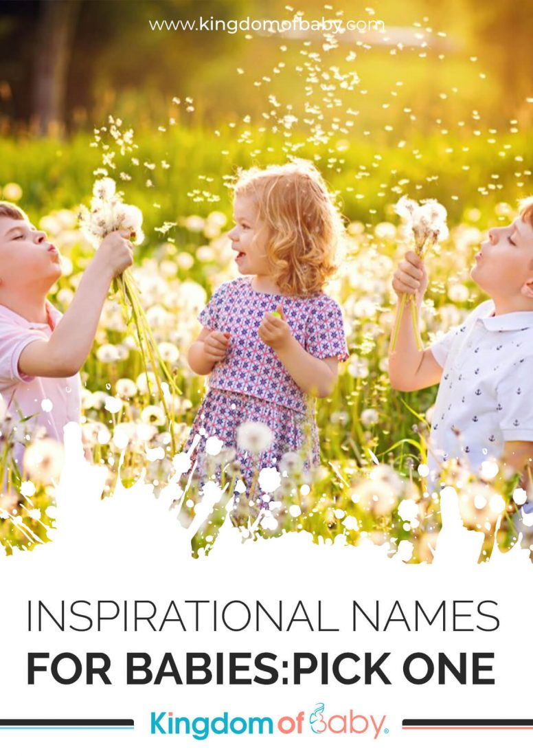 Inspirational Names for Babies: Pick One
