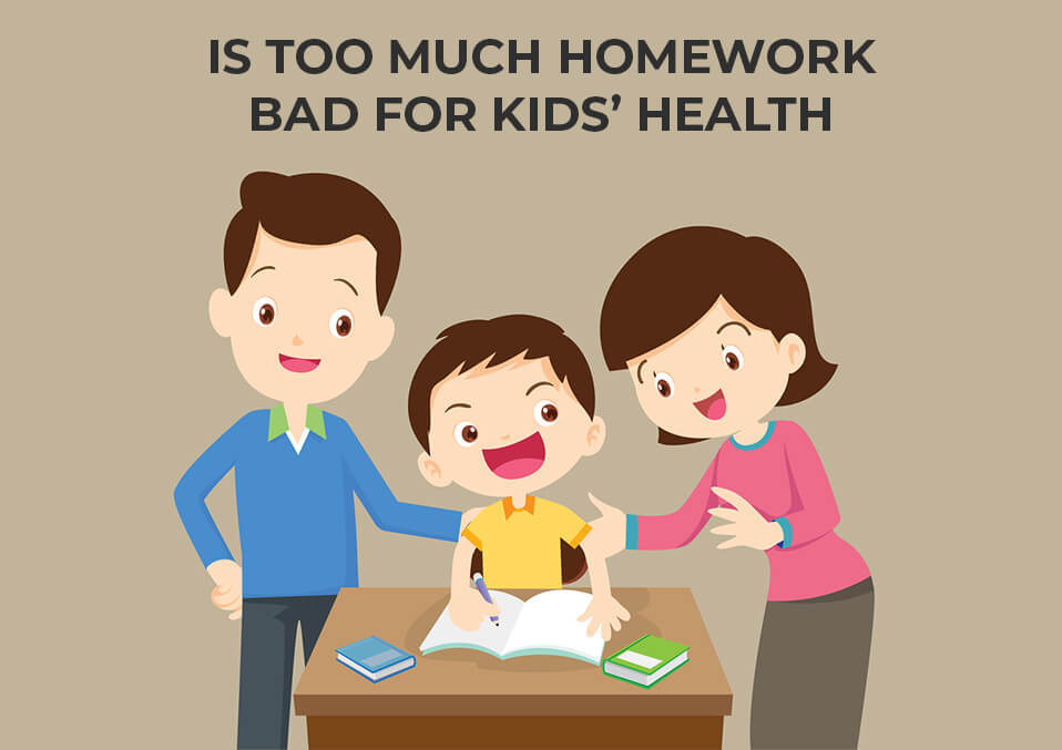 Is Too Much Homework Bad For Kids' Health