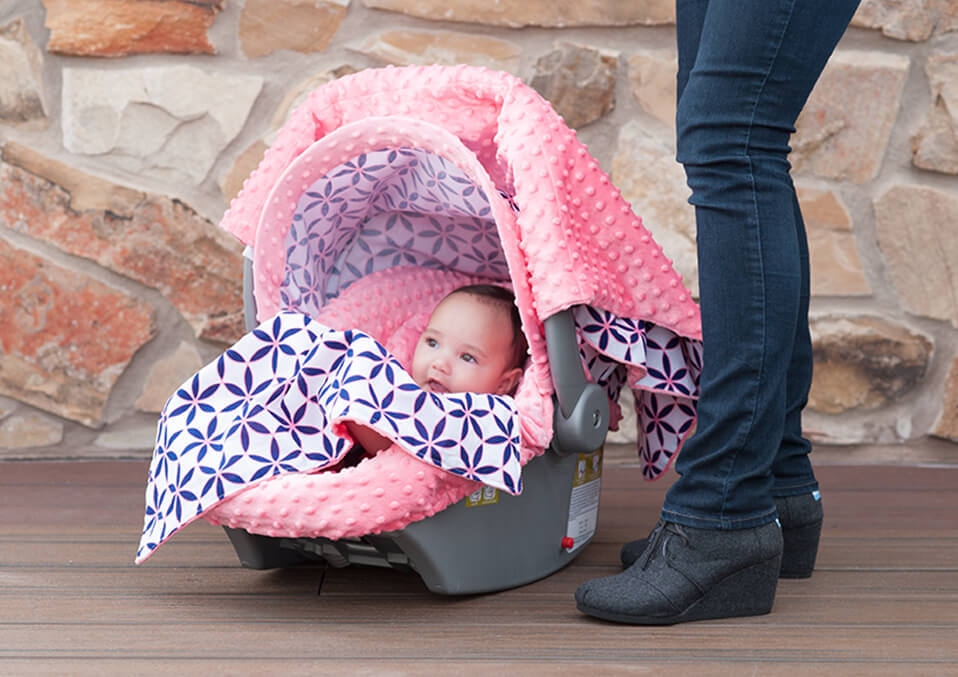 Stretchy Soft Breathable Multi-Use Cover Ups for Stroller High Chair Shopping Cart Nursing Cover Breastfeeding Scarf Baby Shower Gift for Boys Girls Car Seat Covers for Babies Infant Carseat Canopy
