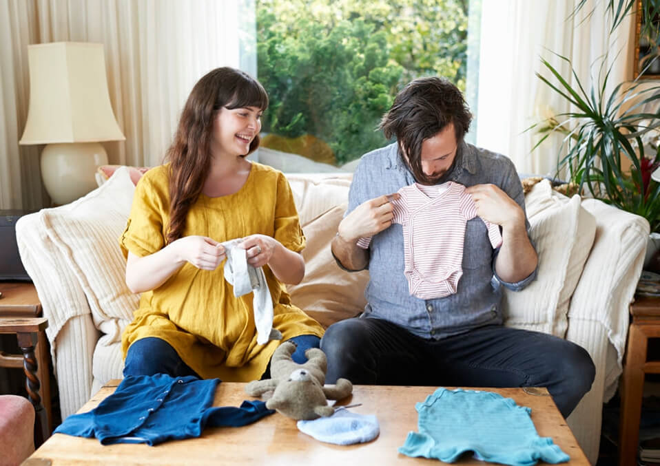Opt for baby clothes for rent.