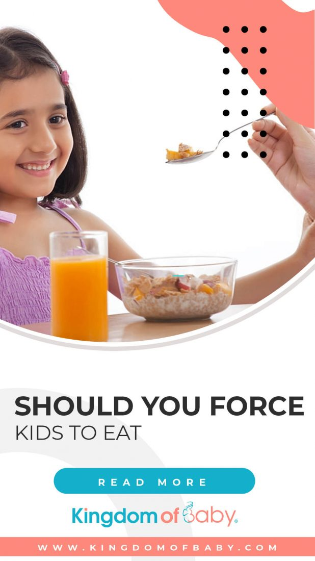 Should You Force Kids to Eat