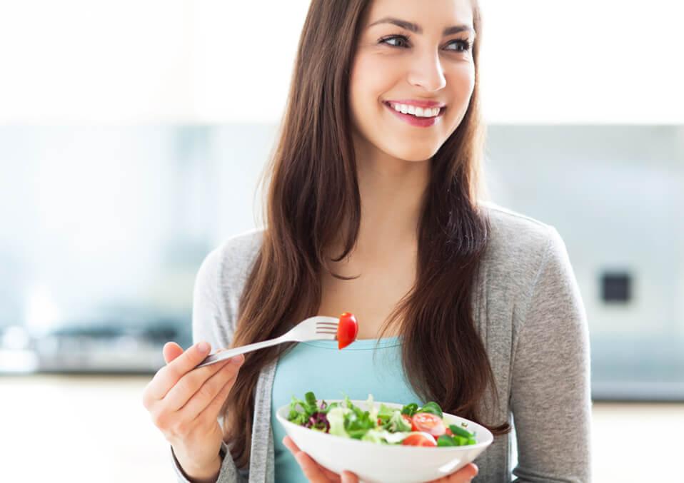 Start modifying your food habits.
