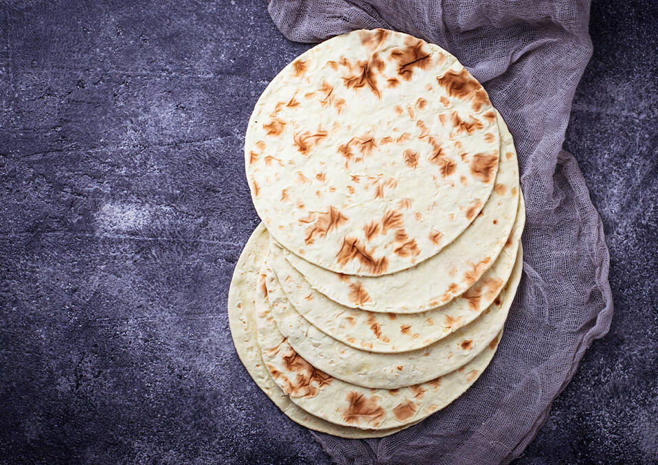 What are corn tortillas?