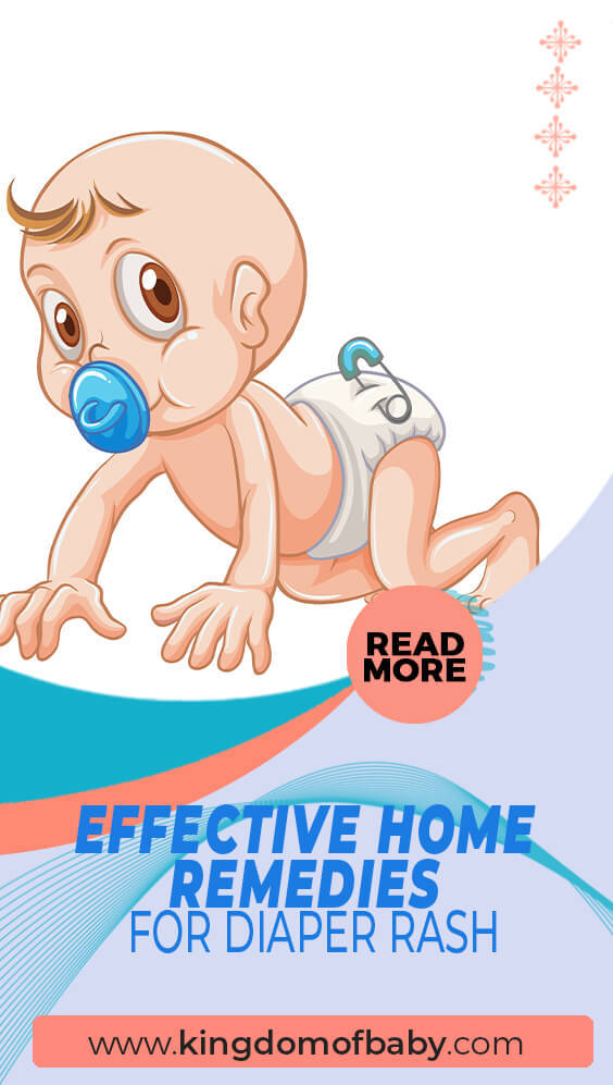 Effective Home Remedies For Diaper Rash Kingdom Of Baby