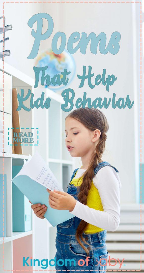 Poems that Help Kids Behavior