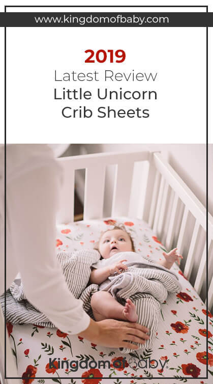 2019 Latest Review - Little Unicorn Crib Sheets