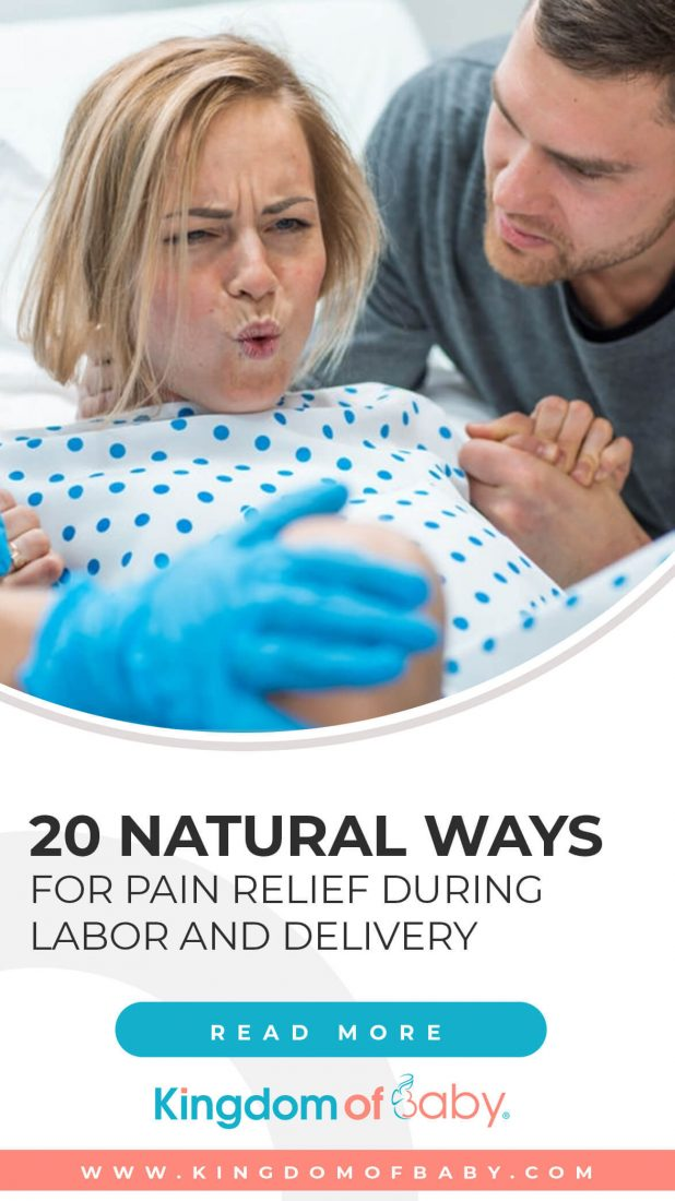 20 Natural Ways for Pain Relief DuringLabor and Delivery