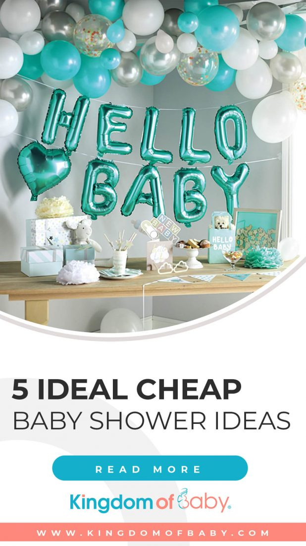 5 Ideal Cheap Baby Shower Ideas