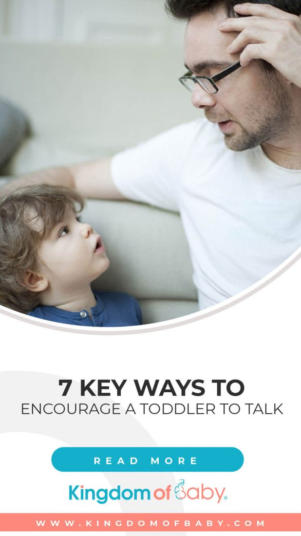 7 Key Ways to Encourage a Toddler to Talk