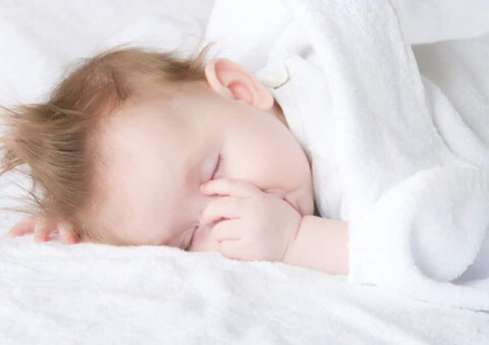 Baby's Secret to a Good Night's Sleep: Baby Sucking in Sleep