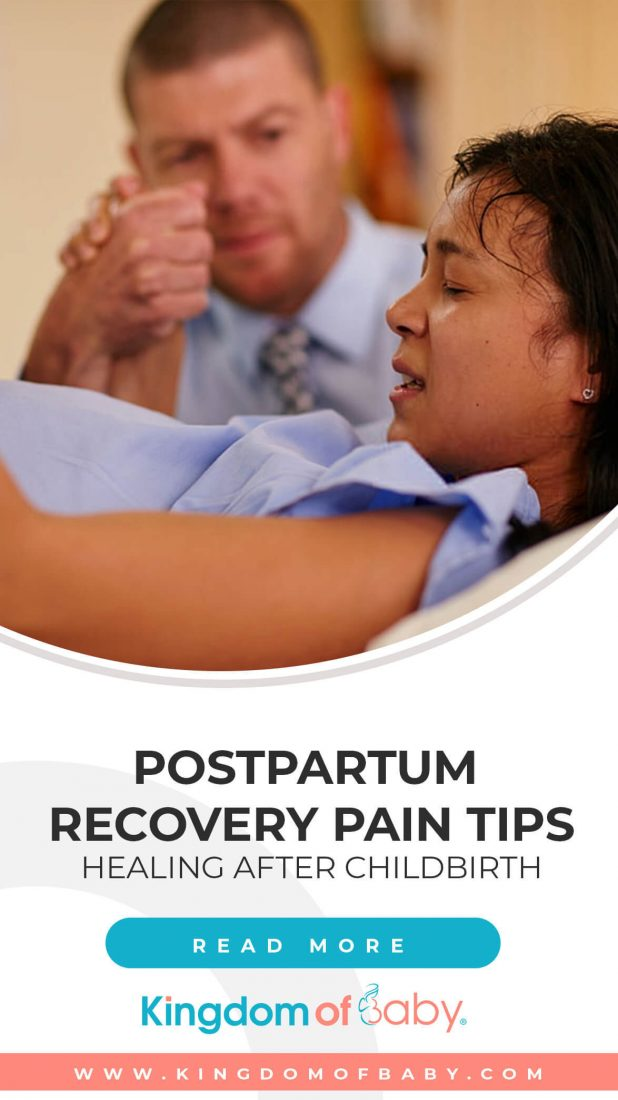 Postpartum Recovery Pain Tips: Healing After Childbirth