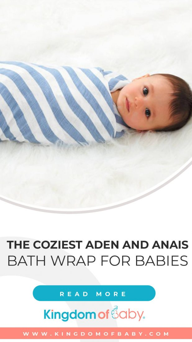 The Coziest Aden and Anais Bath Wrap for Babies