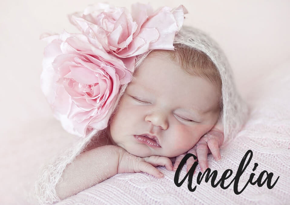 The Name 'Amelia' Meaning and Its Origin