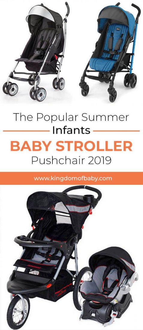 The Popular Summer Infants Baby Stroller Pushchair 2019