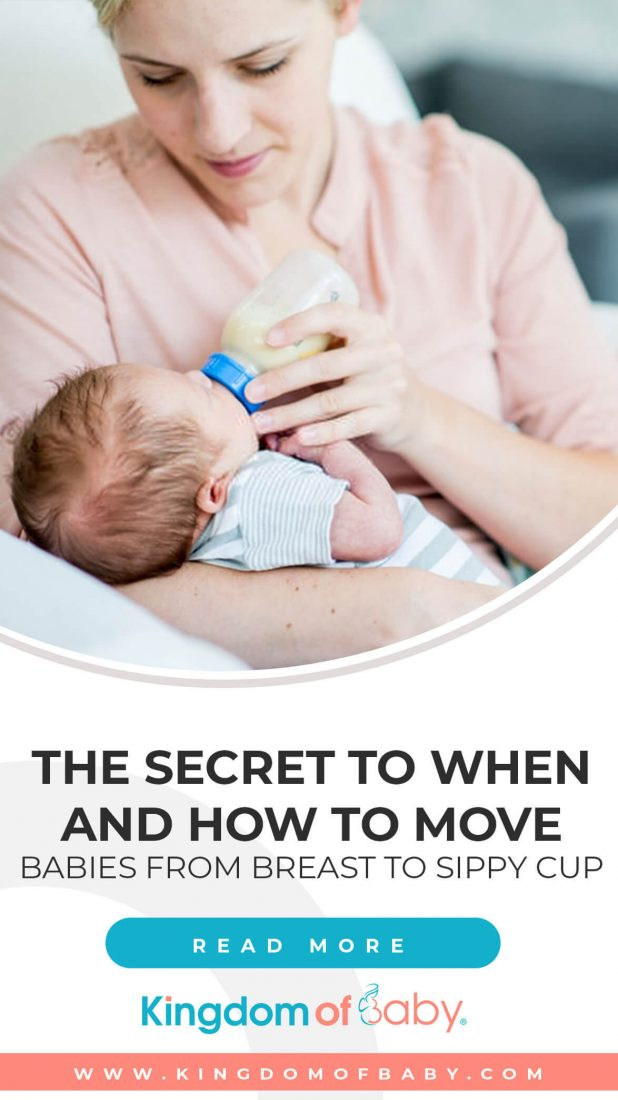 The Secret to when and how to Move Babies From Breast to Sippy Cup