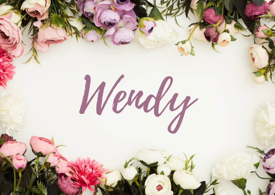 Wendy: Meaning of Name, Origin, History