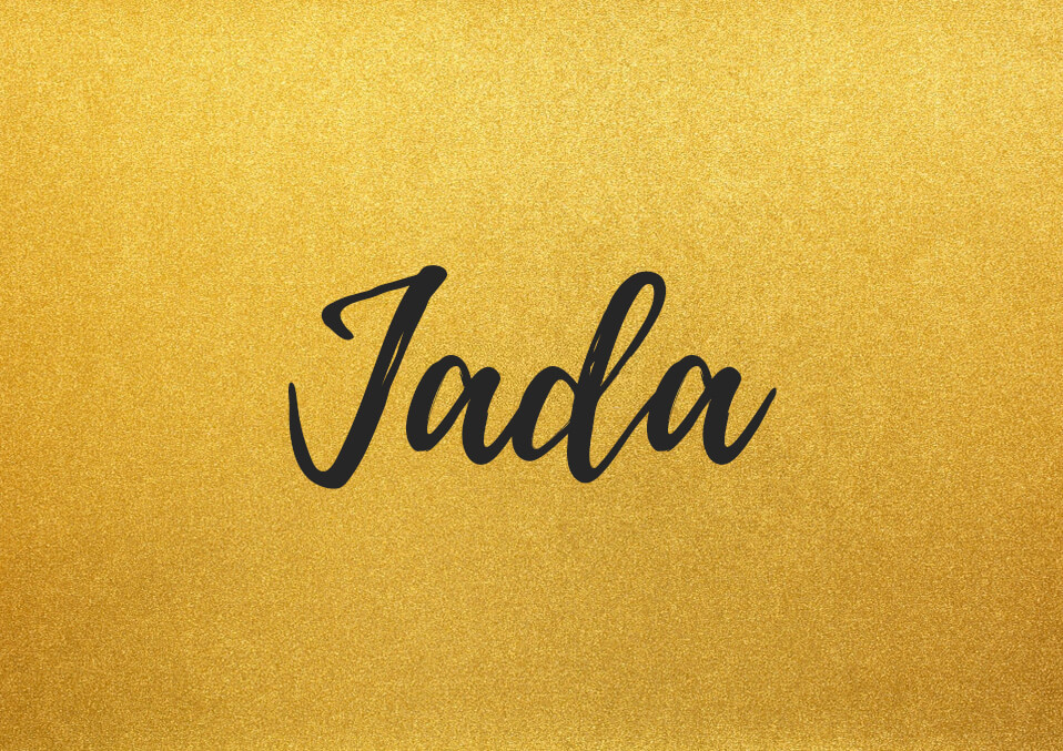 What Does the Name Jada Mean?