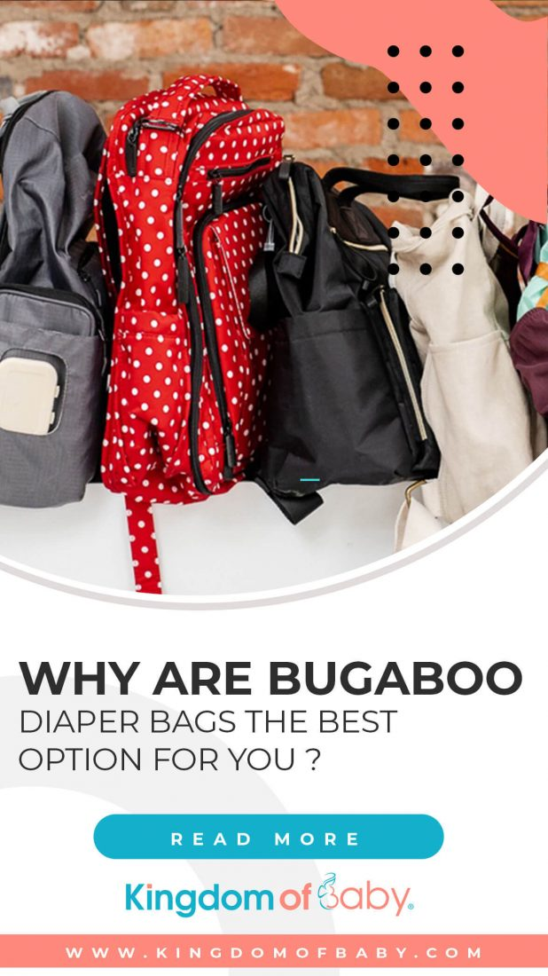 Why are Bugaboo Diaper Bags the Best Option for You?
