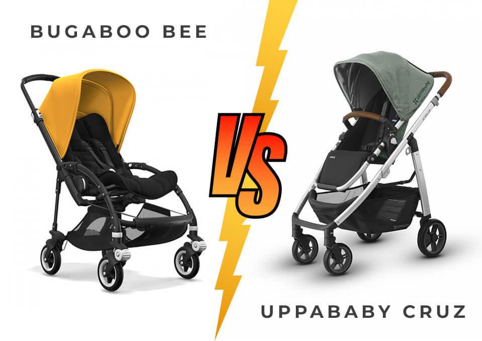 Baby Strollers Uppababy Cruz Vs. Bugaboo Bee