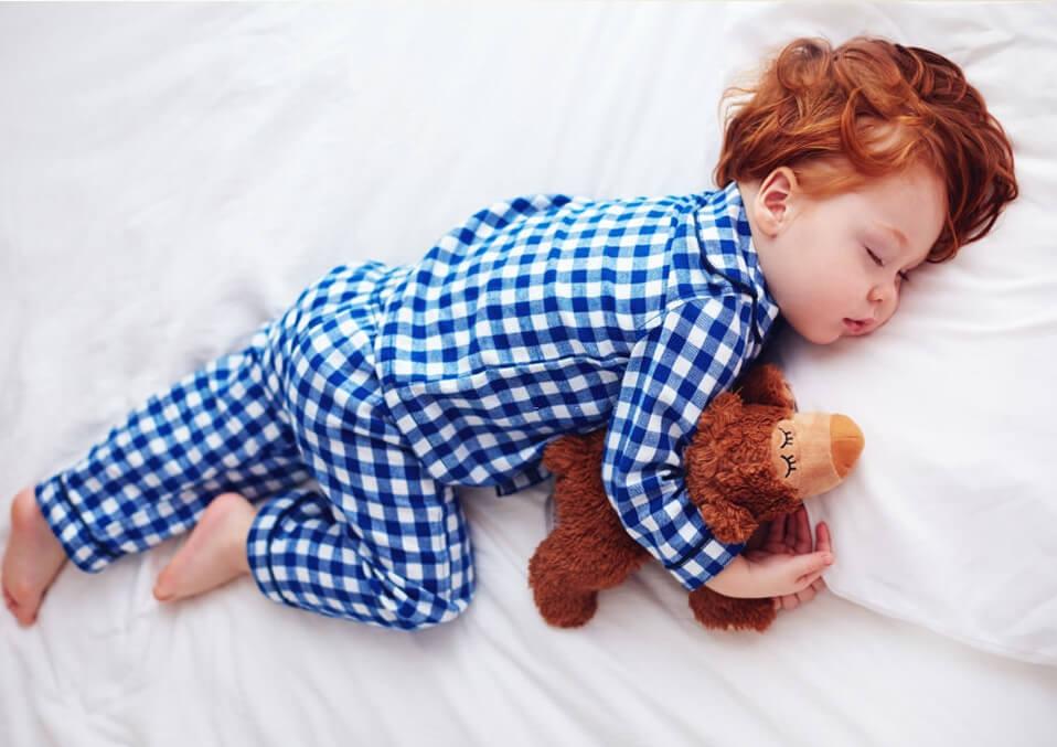 Sleep on the side position
